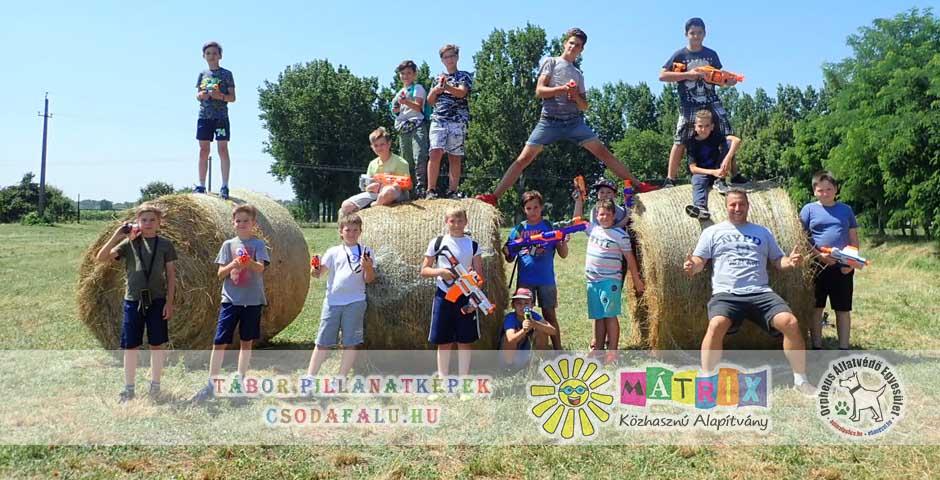 gyermekek nyár szabadidő nyári szünet táborozás